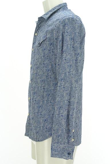 NICOLE(ニコル)の古着「オープンカラー花柄シャツ(カジュアルシャツ)」大画像3へ