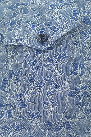 NICOLE(ニコル)の古着「オープンカラー花柄シャツ(カジュアルシャツ)」大画像4へ