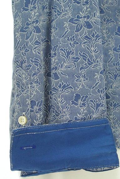 NICOLE(ニコル)の古着「オープンカラー花柄シャツ(カジュアルシャツ)」大画像5へ