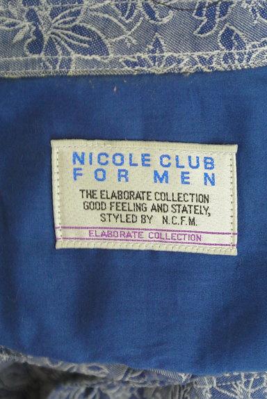 NICOLE(ニコル)の古着「オープンカラー花柄シャツ(カジュアルシャツ)」大画像6へ