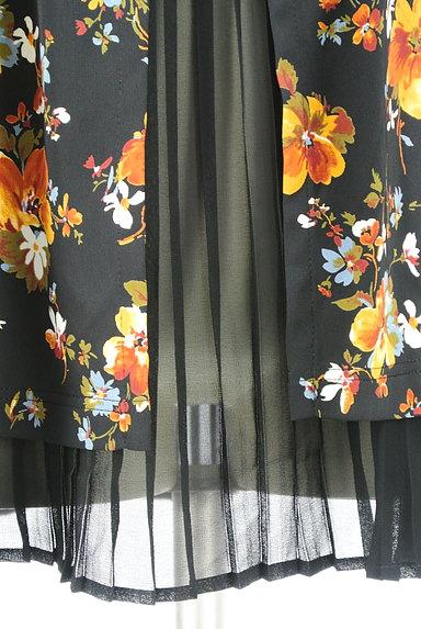 LEILIAN(レリアン)の古着「花柄シフォンプリーツカットソー(カットソー・プルオーバー)」大画像5へ
