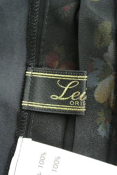 LEILIAN(レリアン)の古着「花柄シフォンプリーツカットソー(カットソー・プルオーバー)」大画像6へ