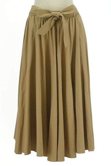 BARNYARDSTORM(バンヤードストーム)の古着「ウエストリボンミモレ丈フレアスカート(ロングスカート・マキシスカート)」大画像1へ