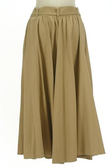 BARNYARDSTORM(バンヤードストーム)の古着「ウエストリボンミモレ丈フレアスカート(ロングスカート・マキシスカート)」大画像2へ