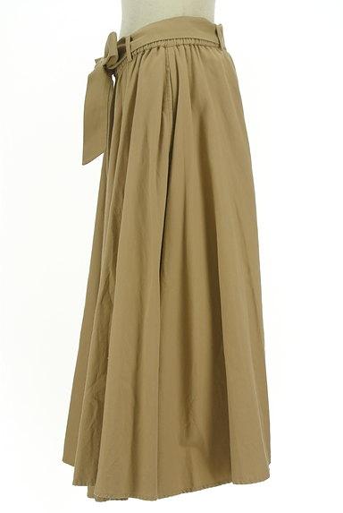 BARNYARDSTORM(バンヤードストーム)の古着「ウエストリボンミモレ丈フレアスカート(ロングスカート・マキシスカート)」大画像3へ