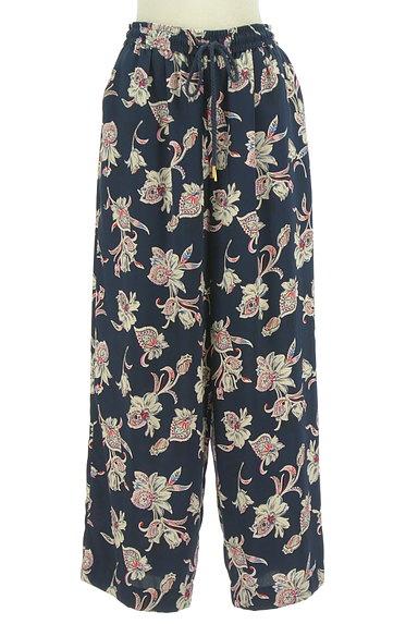 BARNYARDSTORM(バンヤードストーム)の古着「オリエンタル花柄ワイドパンツ(パンツ)」大画像1へ