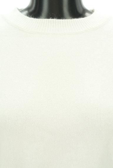 MISCH MASCH(ミッシュマッシュ)の古着「ふわふわ袖のウエストマークニット(ニット)」大画像4へ