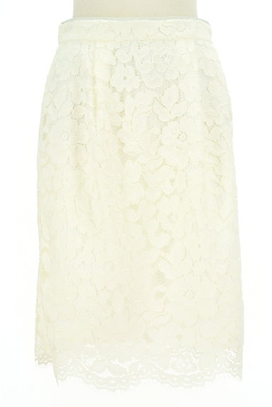 MISCH MASCH(ミッシュマッシュ)の古着「ミディ丈花柄総レースタイトスカート(スカート)」大画像1へ