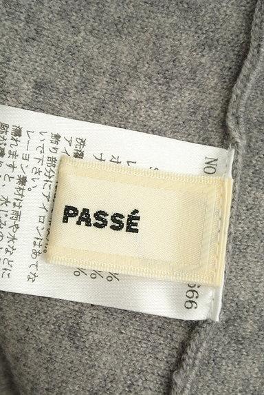 LAISSE PASSE(レッセパッセ)の古着「ビーズ刺繍入りニットフレアワンピース(ワンピース・チュニック)」大画像6へ