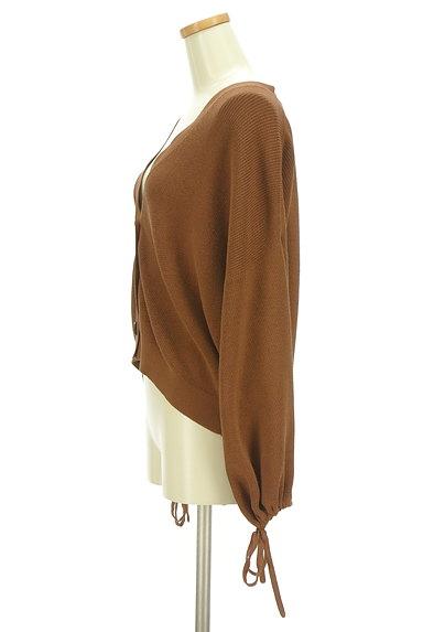 AREA FREE(自由区)の古着「ふんわり袖のショートカーディガン(カーディガン・ボレロ)」大画像3へ