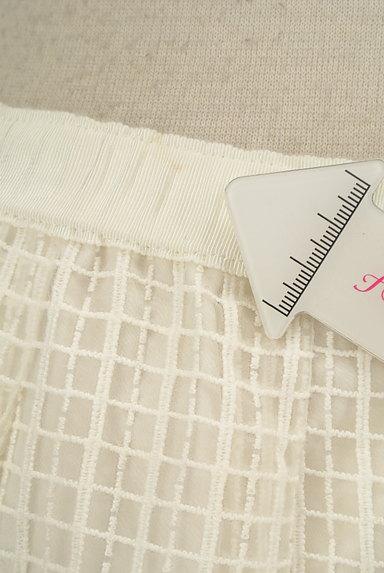 KUMIKYOKU(組曲)の古着「膝丈チェック柄刺繍シアースカート(スカート)」大画像5へ