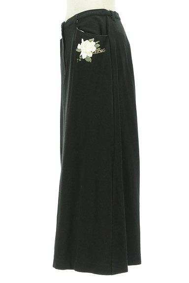 INGEBORG(インゲボルグ)の古着「花とロゴプリントやわらかスカート(ロングスカート・マキシスカート)」大画像3へ