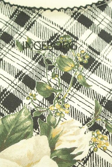 INGEBORG(インゲボルグ)の古着「花柄×チェック柄カットソー(カットソー・プルオーバー)」大画像4へ