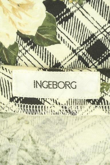 INGEBORG(インゲボルグ)の古着「花柄×チェック柄カットソー(カットソー・プルオーバー)」大画像6へ