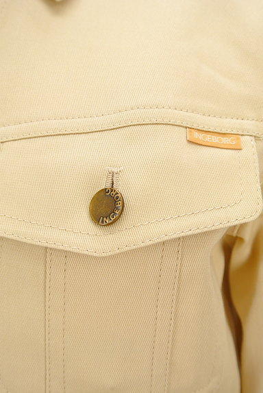 INGEBORG(インゲボルグ)の古着「ワンポイントロゴ刺繍ジャケット(ジャケット)」大画像5へ
