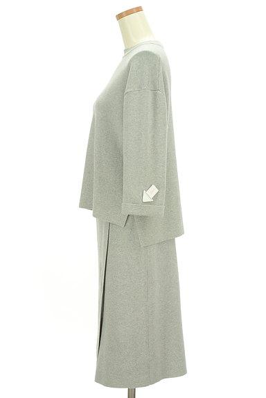 ivory court(アイボリーコート)の古着「簡単大人ニットのセットアップ(セットアップ(ジャケット+スカート))」大画像3へ