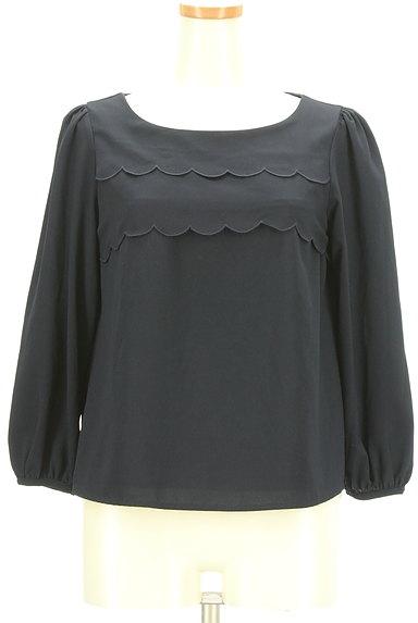 Couture Brooch(クチュールブローチ)の古着「スカラップティアードフリルカットソー(カットソー・プルオーバー)」大画像1へ
