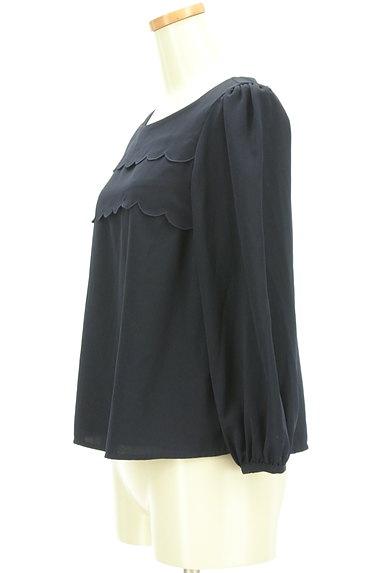 Couture Brooch(クチュールブローチ)の古着「スカラップティアードフリルカットソー(カットソー・プルオーバー)」大画像3へ