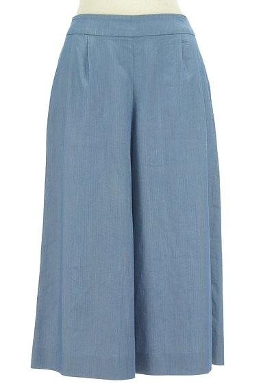 Couture Brooch(クチュールブローチ)の古着「ダンガリーワイドガウチョパンツ(パンツ)」大画像1へ