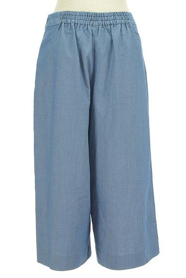 Couture Brooch(クチュールブローチ)の古着「ダンガリーワイドガウチョパンツ(パンツ)」大画像2へ