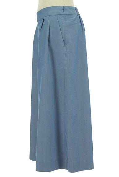 Couture Brooch(クチュールブローチ)の古着「ダンガリーワイドガウチョパンツ(パンツ)」大画像3へ