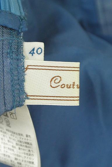 Couture Brooch(クチュールブローチ)の古着「ダンガリーワイドガウチョパンツ(パンツ)」大画像6へ