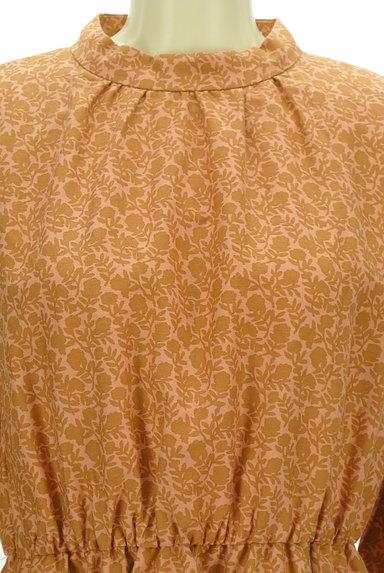 Te chichi(テチチ)の古着「レトロ小花柄ロングワンピース(ワンピース・チュニック)」大画像4へ