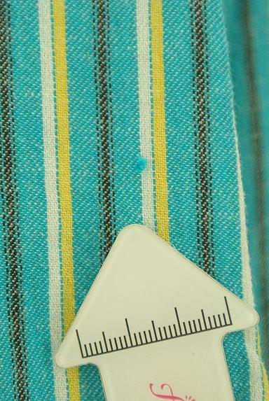 AZUL by moussy(アズールバイマウジー)の古着「ストライプロングカーディガン(カーディガン・ボレロ)」大画像5へ