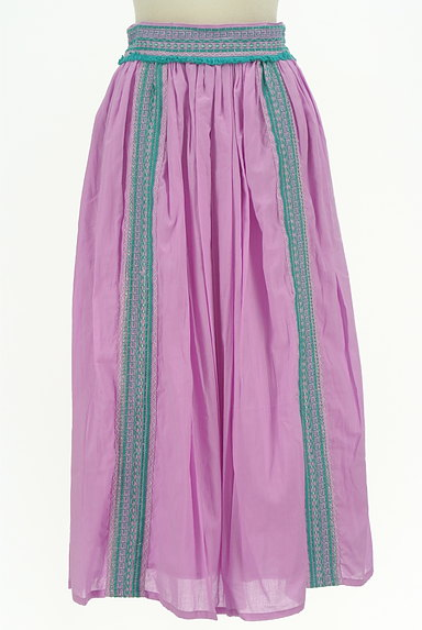 A.I.C(エーアイシー)の古着「エスニックなギャザーマキシスカート(ロングスカート・マキシスカート)」大画像1へ