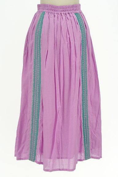 A.I.C(エーアイシー)の古着「エスニックなギャザーマキシスカート(ロングスカート・マキシスカート)」大画像2へ