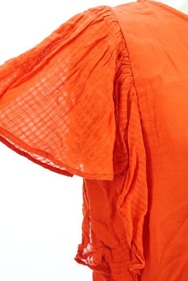 A.I.C(エーアイシー)の古着「フリル袖シアーカットソー(カットソー・プルオーバー)」大画像4へ