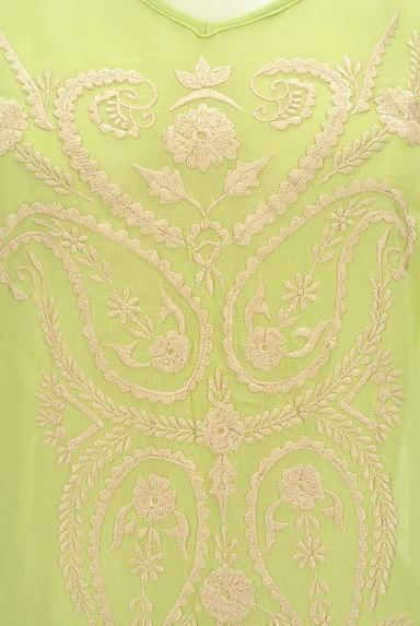 A.I.C(エーアイシー)の古着「エスニック刺繍シアーカットソー(カットソー・プルオーバー)」大画像4へ