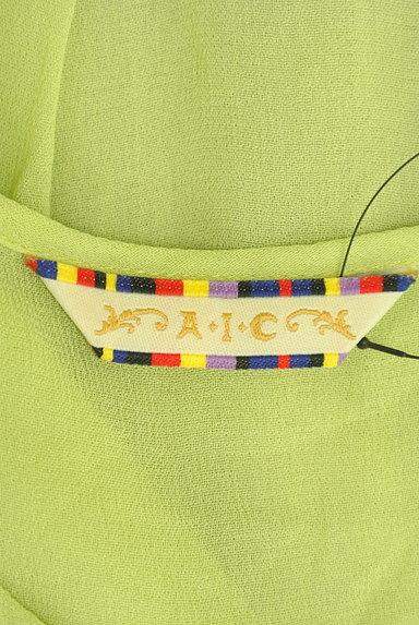 A.I.C(エーアイシー)の古着「エスニック刺繍シアーカットソー(カットソー・プルオーバー)」大画像6へ