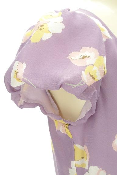 31 Sons de mode(トランテアン ソン ドゥ モード)の古着「ふんわり袖の花柄ワンピース(ワンピース・チュニック)」大画像4へ