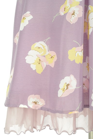 31 Sons de mode(トランテアン ソン ドゥ モード)の古着「ふんわり袖の花柄ワンピース(ワンピース・チュニック)」大画像5へ