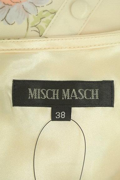 MISCH MASCH(ミッシュマッシュ)の古着「レトロ花柄シフォンワンピース(ワンピース・チュニック)」大画像6へ