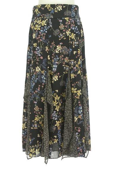 JILLSTUART(ジルスチュアート)の古着「ひらひらシフォンの花柄スカート(ロングスカート・マキシスカート)」大画像2へ