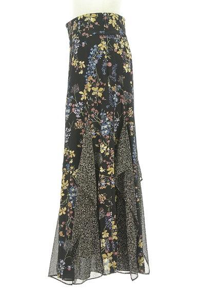 JILLSTUART(ジルスチュアート)の古着「ひらひらシフォンの花柄スカート(ロングスカート・マキシスカート)」大画像3へ