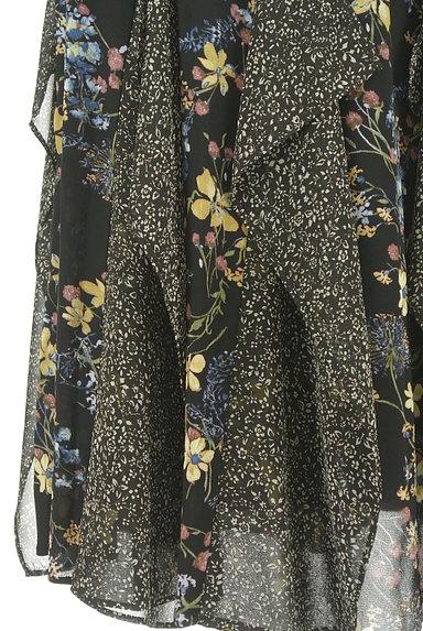 JILLSTUART(ジルスチュアート)の古着「ひらひらシフォンの花柄スカート(ロングスカート・マキシスカート)」大画像5へ