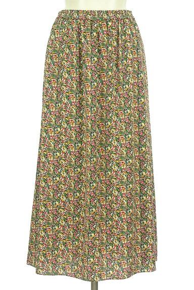 INDIVI(インディヴィ)の古着「カーデと小花スカートのセットアップ(セットアップ(ジャケット+スカート))」大画像5へ