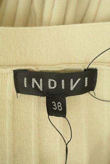 INDIVI(インディヴィ)の古着「カーデと小花スカートのセットアップ(セットアップ(ジャケット+スカート))」大画像6へ