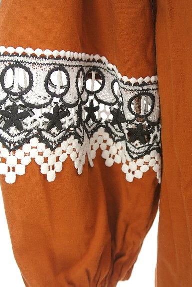 KATHARINE ROSS(キャサリンロス)の古着「ふんわり刺繍袖のギャザーカットソー(カットソー・プルオーバー)」大画像5へ