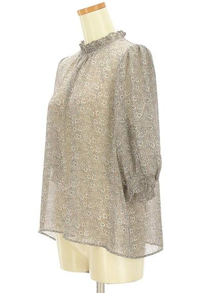 KATHARINE ROSS(キャサリンロス)の古着「小花柄シアーシフォンブラウス(カットソー・プルオーバー)」大画像3へ