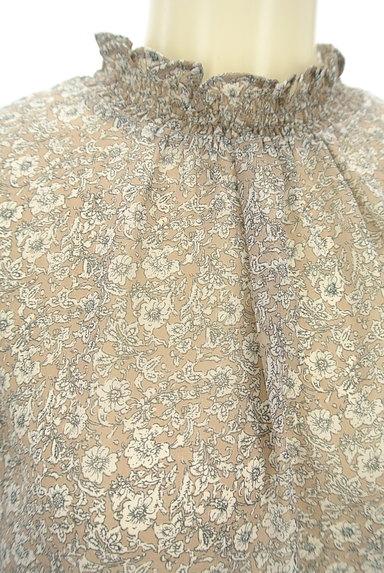 KATHARINE ROSS(キャサリンロス)の古着「小花柄シアーシフォンブラウス(カットソー・プルオーバー)」大画像4へ