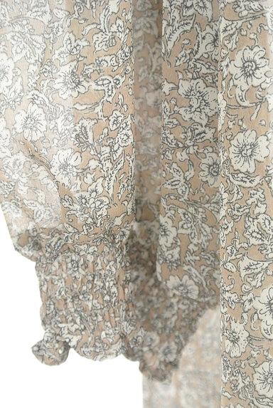 KATHARINE ROSS(キャサリンロス)の古着「小花柄シアーシフォンブラウス(カットソー・プルオーバー)」大画像5へ