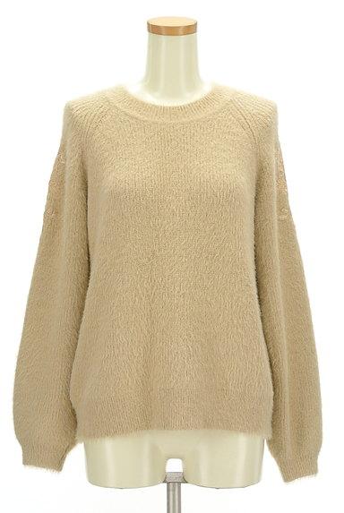 KATHARINE ROSS(キャサリンロス)の古着「艶刺繍のふわふわニット(ニット)」大画像1へ