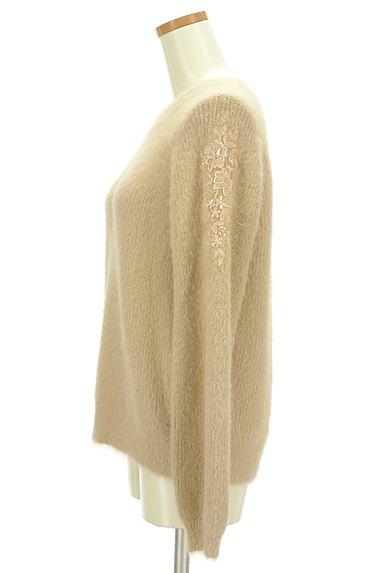 KATHARINE ROSS(キャサリンロス)の古着「艶刺繍のふわふわニット(ニット)」大画像3へ