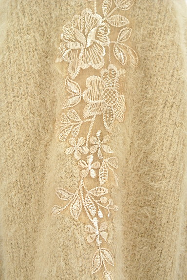 KATHARINE ROSS(キャサリンロス)の古着「艶刺繍のふわふわニット(ニット)」大画像4へ