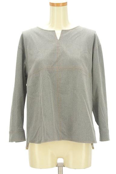 KATHARINE ROSS(キャサリンロス)の古着「カラーステッチのカットソー(カットソー・プルオーバー)」大画像1へ