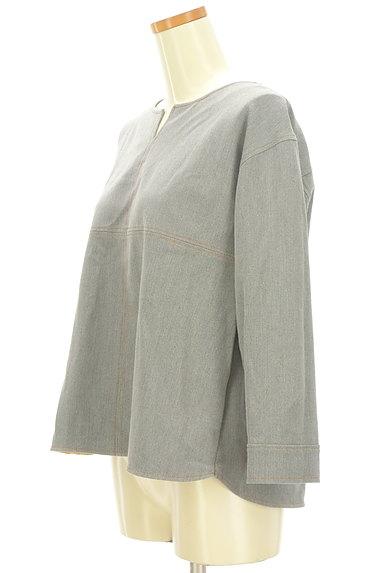 KATHARINE ROSS(キャサリンロス)の古着「カラーステッチのカットソー(カットソー・プルオーバー)」大画像3へ